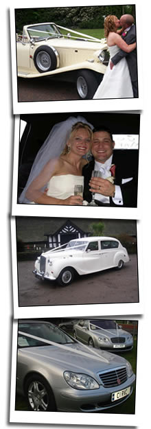 Heywood wedding car homepage graphic